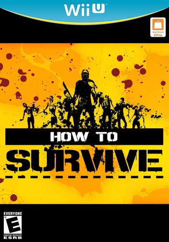 How to Survive WiiU coverM (WHTE)