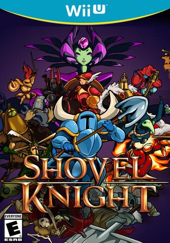 Shovel Knight WiiU coverM (WKNE)