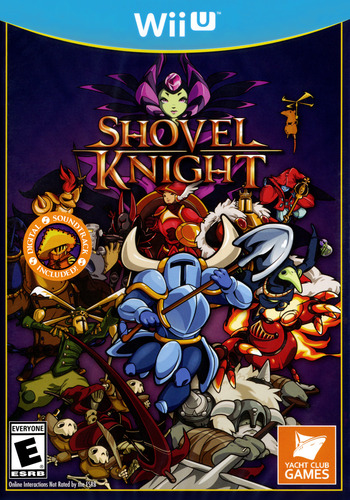 Shovel Knight WiiU coverM (WKNEAY)