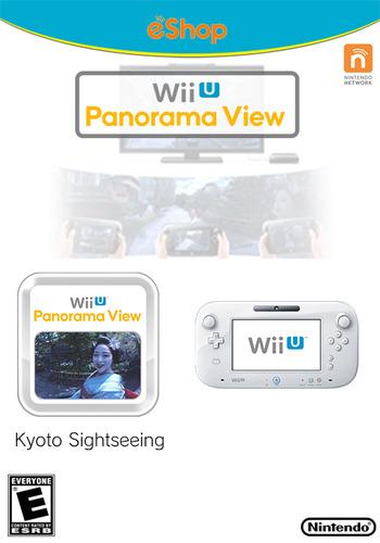 Wii U Panorama View: Kyoto Sightseeing WiiU coverM (WKYE)