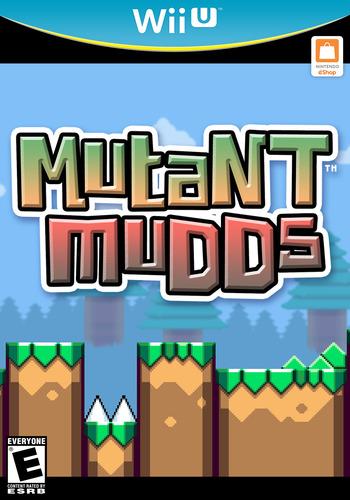 Mutant Mudds Deluxe WiiU coverM (WMME)