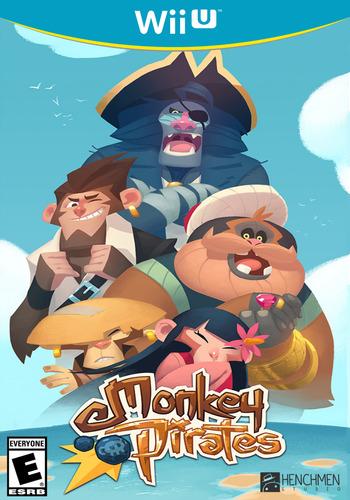 Monkey Pirates WiiU coverM (WMPE)