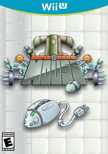 SUPER ROBO MOUSE WiiU coverM (WMWE)