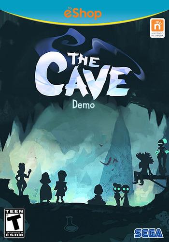 The Cave WiiU coverM (WCVE)