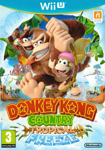 Donkey Kong Country: Tropical Freeze WiiU coverM2 (ARKP01)