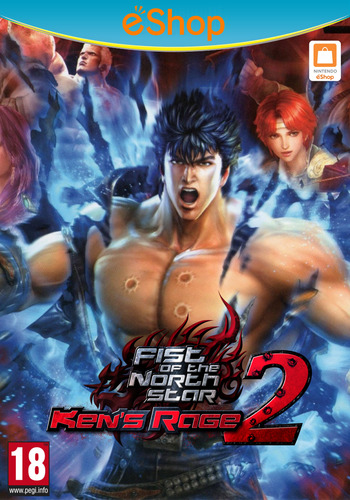 Fist of the North Star: Ken's Rage 2 WiiU coverM2 (AH9P)