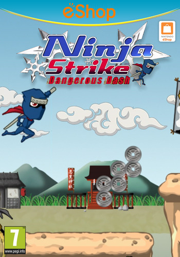 Ninja Strike: Dangerous Dash WiiU coverM2 (ANJP)