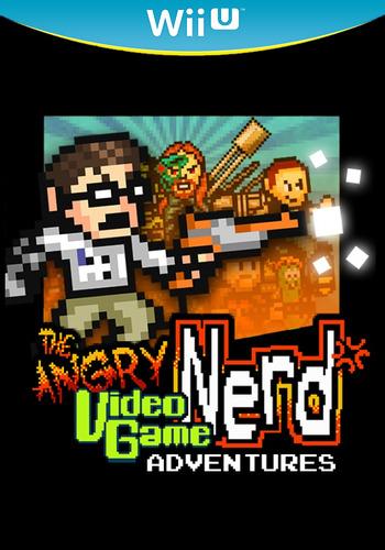 Angry Video Game Nerd Adventures WiiU coverM2 (AVGP)