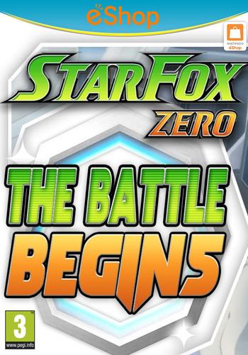 Star Fox Zero - The Battle Begins WiiU coverM2 (BAEP)