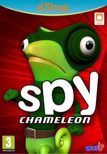 Spy Chameleon WiiU coverM2 (BC9P)