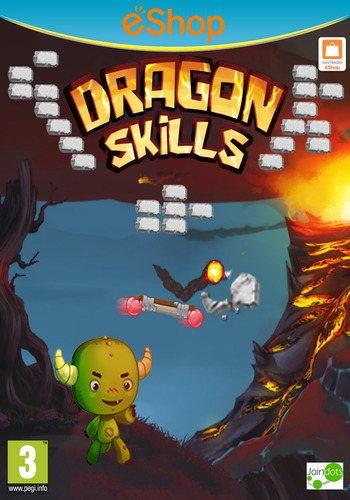 Dragon Skills WiiU coverM2 (BD5P)