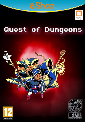Quest of Dungeons WiiU coverM2 (BQDP)