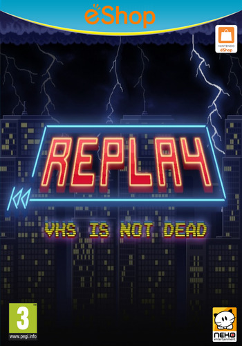 REPLAY:VHS is not dead WiiU coverM2 (BREP)