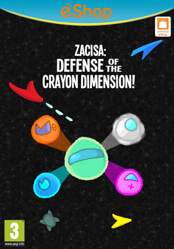 ZaciSa: Defense of the Crayon Dimensions! WiiU coverM2 (WLSP)