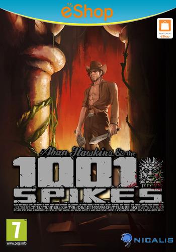 1001 Spikes WiiU coverM2 (WM9P)
