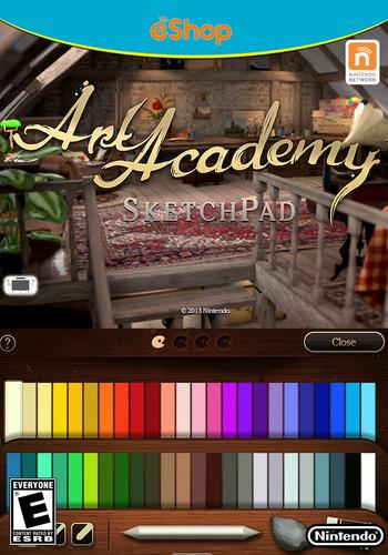Art Academy: SketchPad WiiU coverM2 (AA9E)