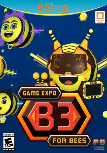B3 Game Expo For Bees WiiU coverM2 (AB3E)