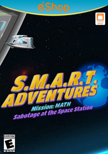 SMART Adventures Mission Math: Sabotage at the Space Station WiiU coverM2 (ADME)