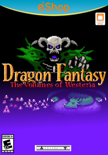 Dragon Fantasy: The Volumes of Westeria WiiU coverM2 (ADWE)