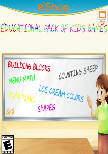 Educational Pack of Kids Games WiiU coverM2 (AE2E)