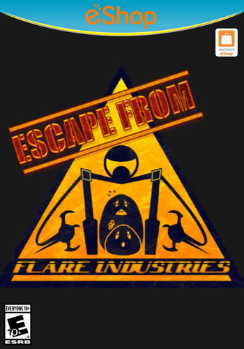 Escape From Flare Industries WiiU coverM2 (AEFE)