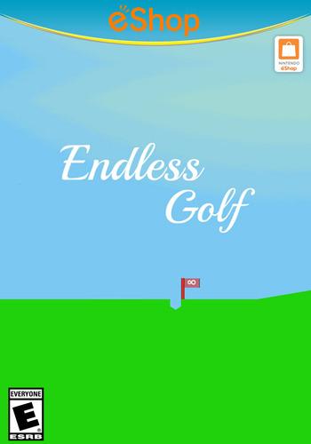 Endless Golf WiiU coverM2 (AEGE)