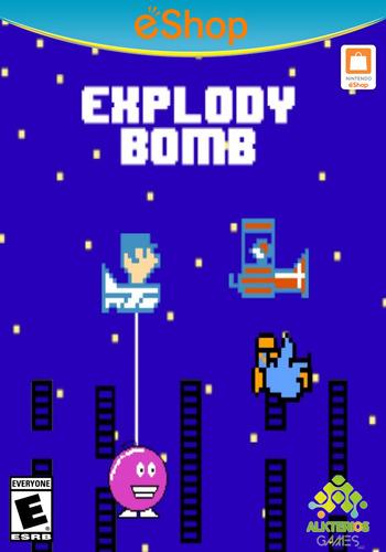 Explody Bomb WiiU coverM2 (AEXE)