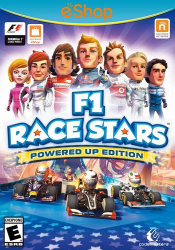F1 Race Stars: Powered Up Edition WiiU coverM2 (AF9E)