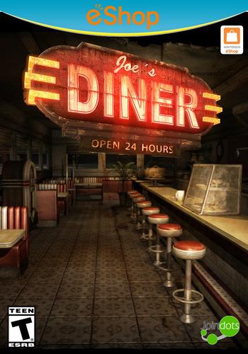 Joe's Diner WiiU coverM2 (AJAE)