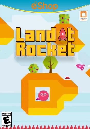 Land it Rocket WiiU coverM2 (AL6E)