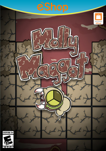 Molly Maggot WiiU coverM2 (AM5E)