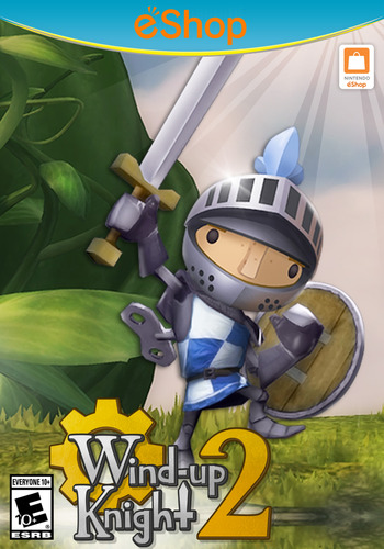 Wind-up Knight 2 WiiU coverM2 (AN2E)