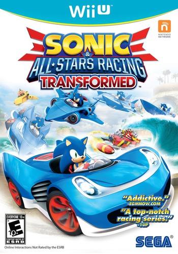 Sonic & All-Stars Racing Transformed WiiU coverM2 (AS2E8P)