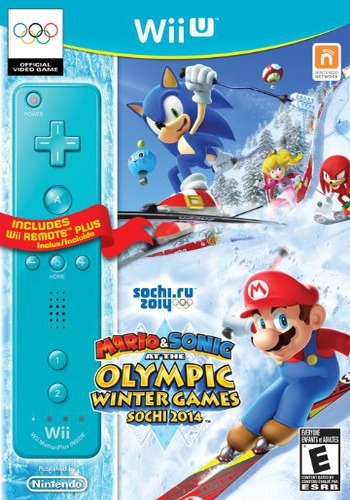 Mario & Sonic at the Sochi 2014 Olympic Winter Games WiiU coverM2 (AURE01)