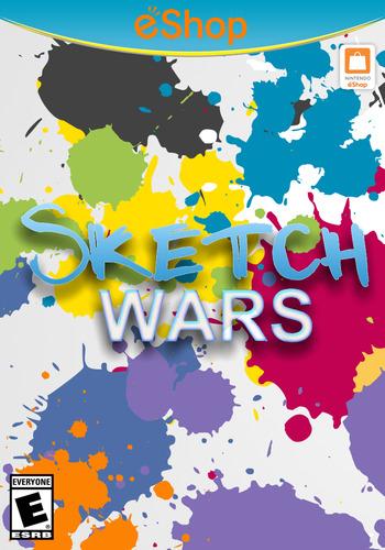 Sketch Wars WiiU coverM2 (AWRE)