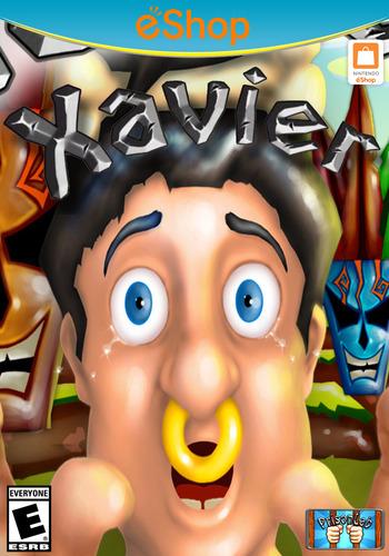 Xavier WiiU coverM2 (AXAE)