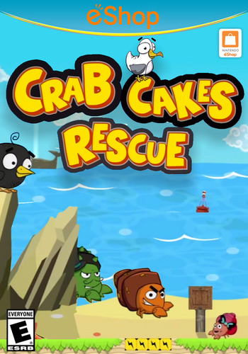 Crab Cakes Rescue WiiU coverM2 (BCEE)