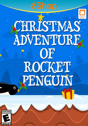 Christmas Adventure of Rocket Penguin WiiU coverM2 (BCKE)