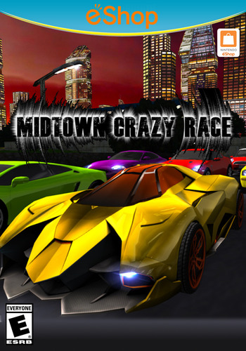 Midtown Crazy Race WiiU coverM2 (BCRE)