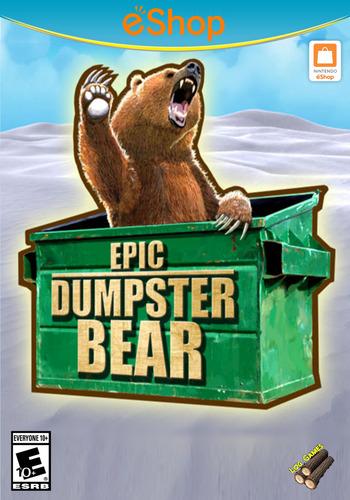 Epic Dumpster Bear WiiU coverM2 (BDPE)