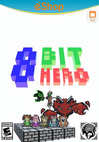 8Bit Hero WiiU coverM2 (BH8E)