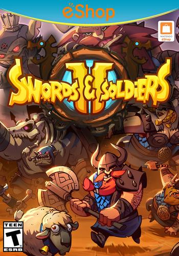 Swords & Soldiers II WiiU coverM2 (BS2E)