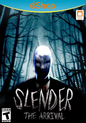 Slender: The Arrival WiiU coverM2 (BSAE)