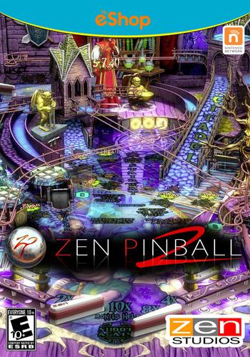 Zen Pinball 2 WiiU coverM2 (WBAE)
