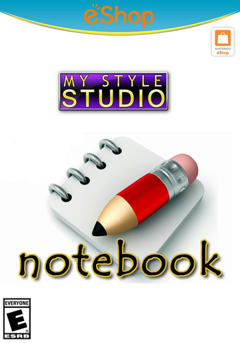 My Style Studio: Notebook WiiU coverM2 (WBKE)