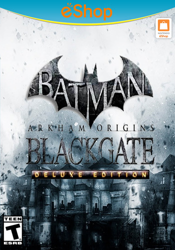 Batman: Arkham Origins Blackgate - Deluxe Edition WiiU coverM2 (WBME)