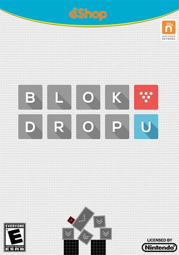 BLOK DROP U WiiU coverM2 (WBUE)