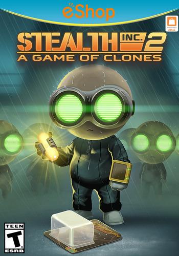 Stealth Inc 2: A Game of Clones WiiU coverM2 (WCGE)