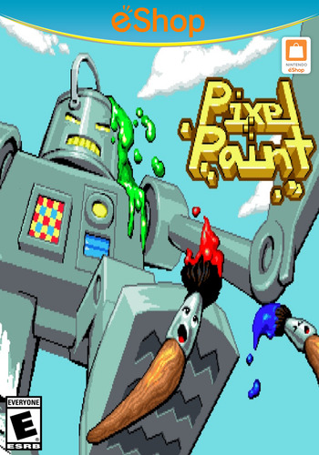 Pixel Paint WiiU coverM2 (WD9E)