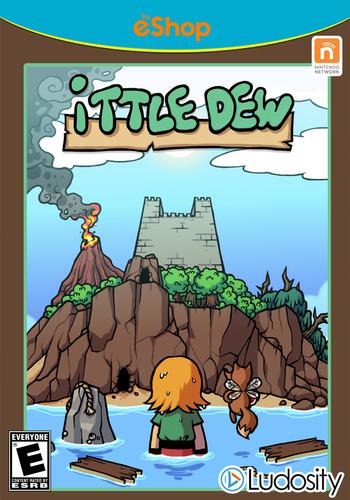 Ittle Dew WiiU coverM2 (WDWE)